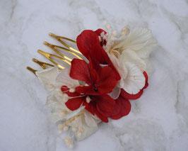 """Petit Peigne fleuri """"Sonia"""""""