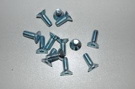 Senkschrauben DIN ISO 10642 M6  vz.
