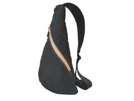 Crossbag schwarz/grau/rosegold