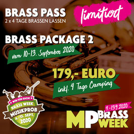 Brass Week Package 2 mit Camping