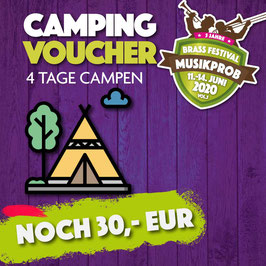 EARLY BÄR  CAMPING TICKET