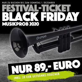 "FESTIVAL-PAKET ZUM ""BLACK-FRIDAY """