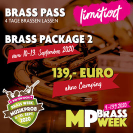 Brass Week Package 2 ohne Camping
