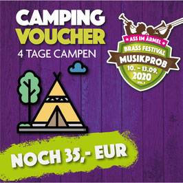 4 Tage CAMPING TICKET