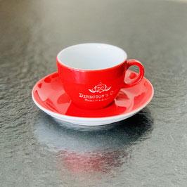 Director's Cut - Original Cappuccino Tasse 0,2l graviert mit Untertasse