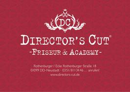 Director's Cut Friseurgutschein per Versand nach Hause