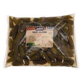 Piments Jalapeño verts entier - Sachet 3Kg