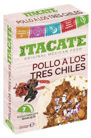 Pollo a Los Tres Chiles - Itacate - 300g