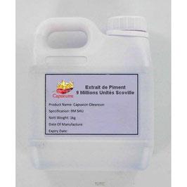 Extrait de Piment 9 Millions Unités Scoville - 1Kg