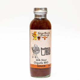 Sauce Barbecue Bière Chipotle - GingerBeard's Preserves
