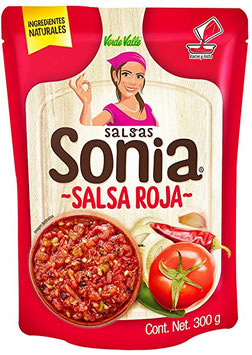 Salsa Roja sauce rouge - Salsas Sonia