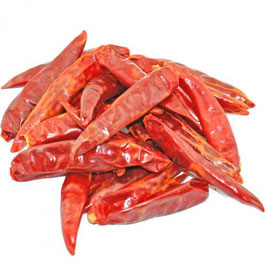 Piment Sichuan Long Facing Heaven sec entier