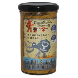 Moutarde Bière Pale Ale & Genièvre - GingerBeard's Preserves
