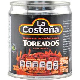 La Costeña - Jalapeño rouge grillé aux oignons