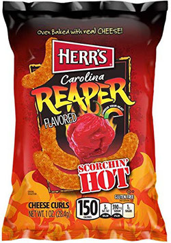 Chips Soufflées fromage & Carolina Reaper - Herrs
