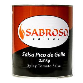 Sauce Salsa Pico de Gallo - 2.8Kg