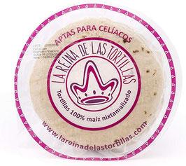 Tortillas Wraps maïs pour Tacos (Diamètre 15cm) - 500g