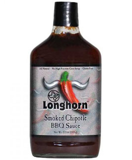 Texas Longhorn Smoked Chipotle Barbecue Sauce