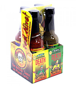 Blair's - Coffret 4 Mini Sauces Death