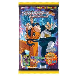 Coris Dragon Ball gum & carte metal