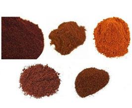 Pack Découverte Piments Mexicains en poudre - 5 x 50g