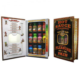 Coffret Hot Sauce Challenge - Book of Pleasure & Pain