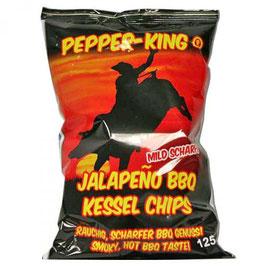 Chips Pepper King Jalapeño BBQ