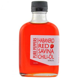 Huile Pimentée au Habanero Red Savina