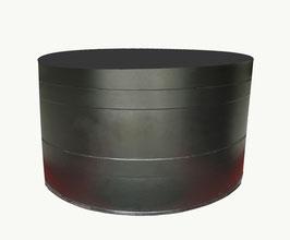 Rundbecken PE - Innenhälterung Koi Black Pearl XL - 4.500 Liter