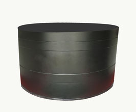 Rundbecken PE - Innenhälterung Koi Black Pearl L - 2.500 Liter