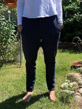 Froeken Frida Jersey-Hose, schmal, BIO, Jeansblau
