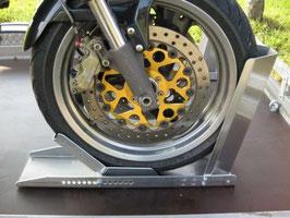 Motorradwippe - Einbaulösung für Bus und Anänger