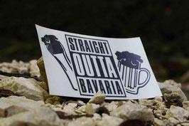 STRAIGHT OUTTA BAVARIA #PremiumSticker