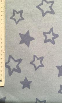 Alpenfleece - Sterne hellblau