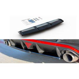 Mittlerer Cup Diffusor Heck Ansatz passend für Hyundai I30 N Fastback