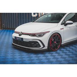 Cup Spoilerlippe Front Ansatz für Volkswagen Golf 8 GTI
