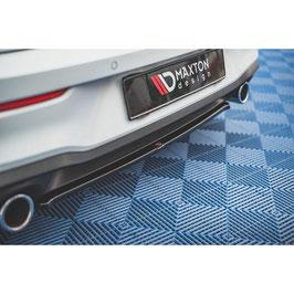 Mittlerer Cup Diffusor Heck Ansatz für Volkswagen Golf 8 GTI