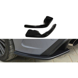 Heck Ansatz Flaps Diffusor passend für Ford Focus RS Mk3