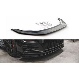 Cup Spoilerlippe Front Ansatz für VW Golf 7 GTI TCR
