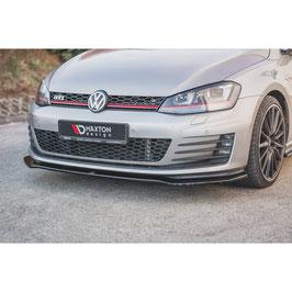 Cup Spoilerlippe Front Ansatz V.2 für VW Golf 7 GTI