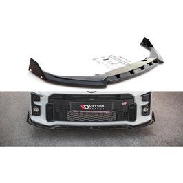 Cup Spoilerlippe Front Ansatz + Flaps V.2 für Toyota GR Yaris