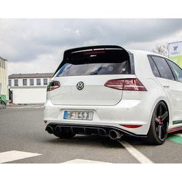 Heck Ansatz Diffusor für VW GOLF Mk7 GTI CLUBSPORT