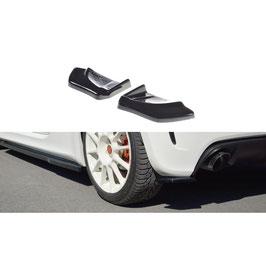 Heck Ansatz Flaps Diffusor passend für FIAT 500 ABARTH