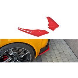 Heck Ansatz Flaps Diffusor V.2 passend für Toyota Supra Mk5