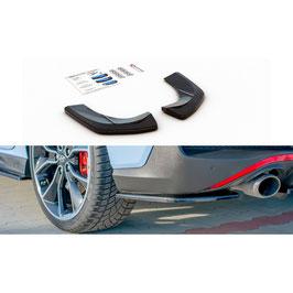 Heck Ansatz Flaps Diffusor passend für Hyundai I30 N Fastback