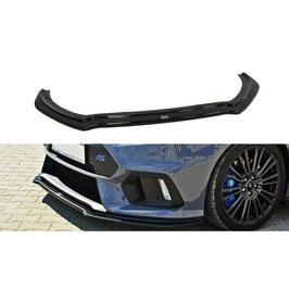 Cup Spoilerlippe Front Ansatz V.4 passend für Ford Focus RS Mk3