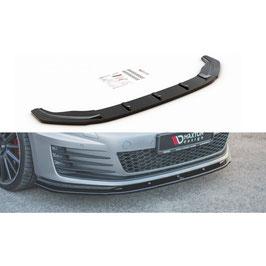 Cup Spoilerlippe Front Ansatz V.1 für VW Golf 7 GTI