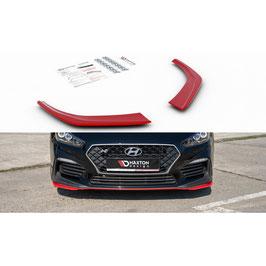 Cup Spoilerlippe Front Ansatz passend für Hyundai I30 N Mk3 Hatchback / Fastback