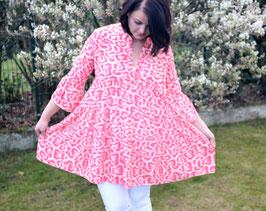 Tunikakleid *LEOLOVE pink