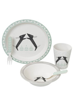 Dinner set bamboo Dachsy